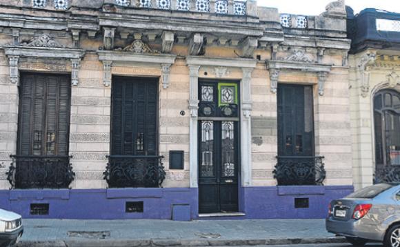 La Solidaria: la vieja casona es ocupada desde hace varios años. Foto: archivo