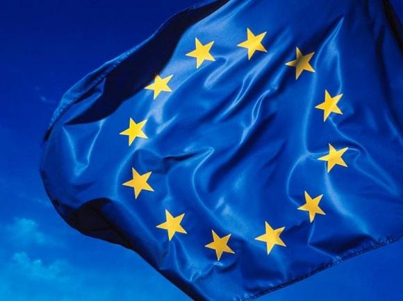 La bandera de la Unión Europea. Foto: Archivo
