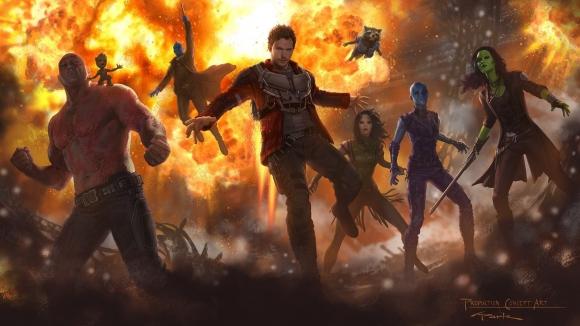Guardianes de la Galaxia. Foto: Difusión