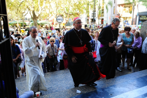 Cardenal Daniel Sturla. Foto: Francisco Flores.