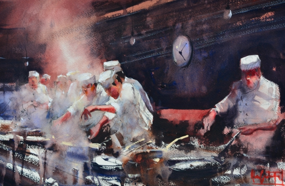 Las obras de Castagnet gozan de prestigio mundial. Foto: Álvaro Castagnet