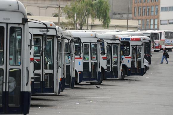 En horarios de menor demanda se quitarán unidades de la calle. Foto: F. Ponzetto