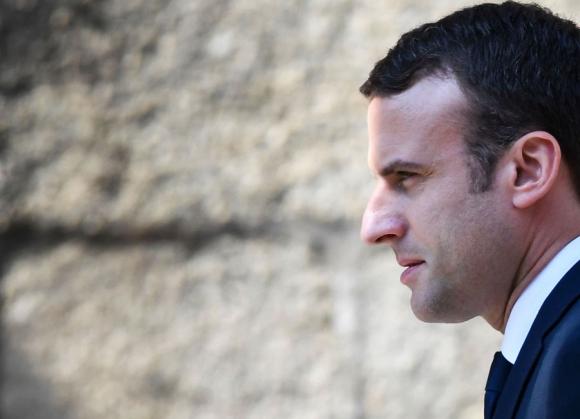 Emmanuel Macron. Foto: AFP
