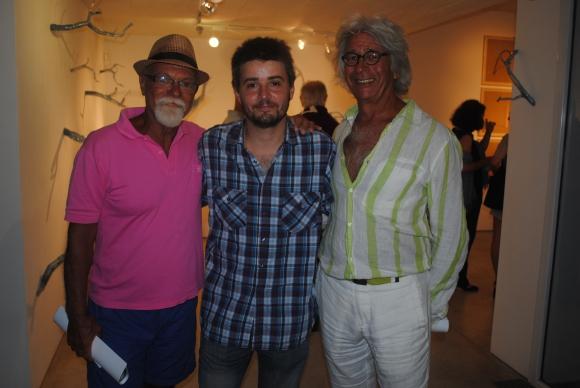 Luis Niveiro, Pedro Tyler, Oscar Bernal.