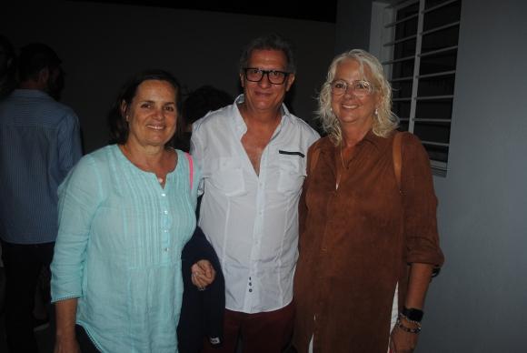 Karina Badaraco, Duilio Pierri, Maggie de Koenigsberg.