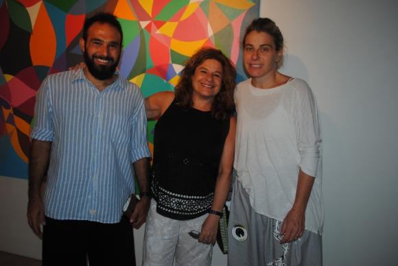 Nicolás Arroyo, Patricia y Bárbara Factrovich.