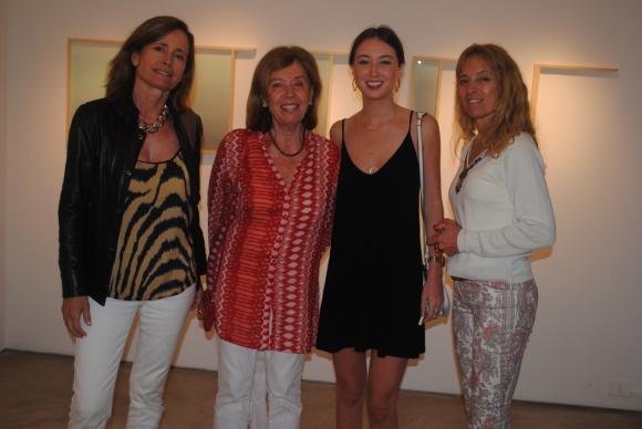 Carolina Quesada, Beatriz Brown, Valentina y Patricia Quesada.