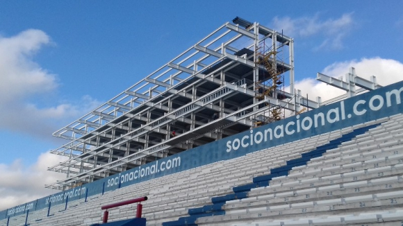 Las obras en el Parque Central siguen avanzando. Foto: Prensa Nacional.
