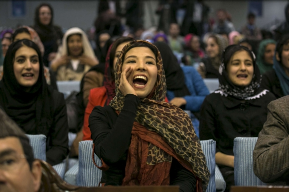 Esta imagen fue tomada en Aftganistán. Foto: Paula Bronstein