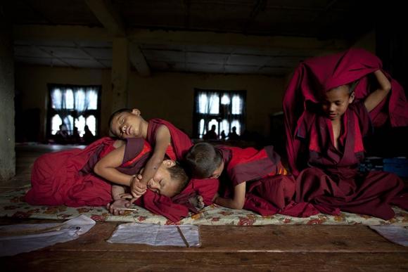 Esta imagen fue tomada en Bután. Foto: Paula Bronstein