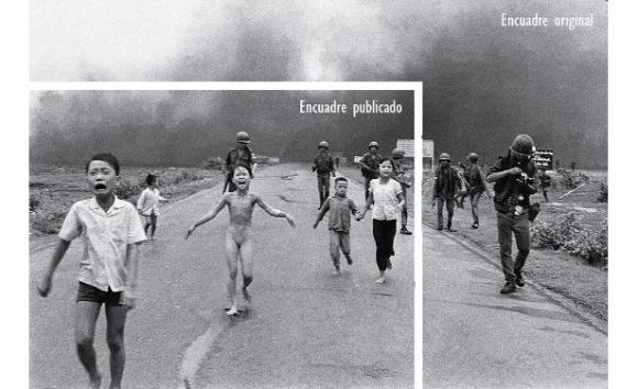 Nick Ut, El terror de la guerra en sus dos versiones, Vietnam, 1972. Foto AP/Nick Ut