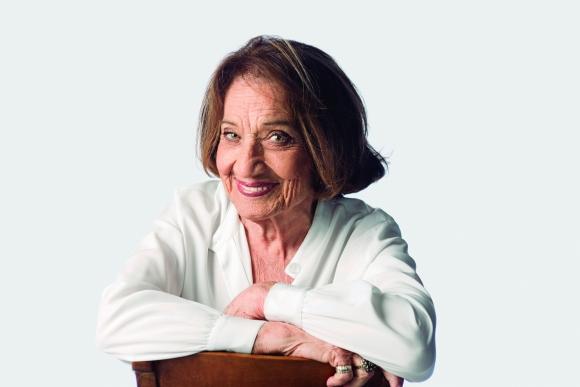 Cristina Morán. Actriz, locutora y conductora de radio y televisión.