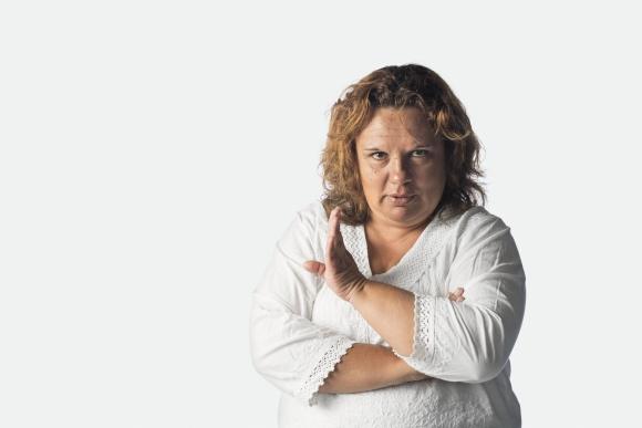 María Flores. Presidenta de la Asociación de Mujeres Rurales del Uruguay.