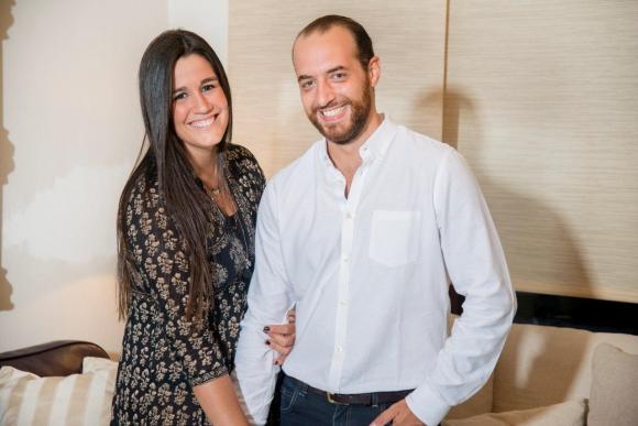 Fernando Amado y Flor Querol. Foto: Julmart Bueno