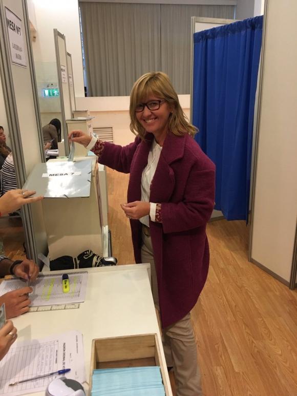 Cristina Lustemberg, ministra interina de Salud. Foto: Twitter SMU
