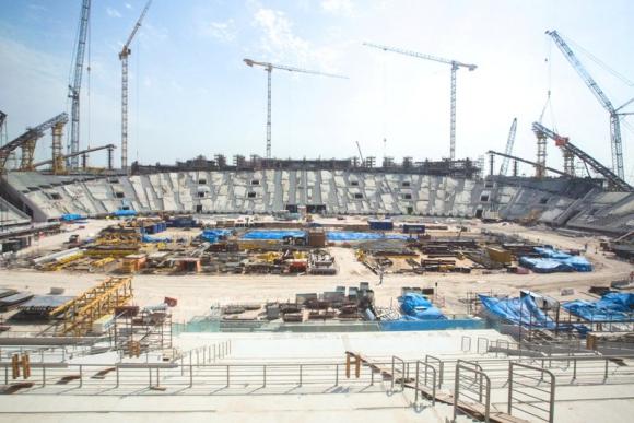 El estadio Khalifa ya existía desde 1976, pero fue reconstruido desde cero. Foto: Reuters