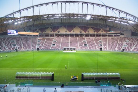 El escenario de Doha tiene capacidad para 40.000 espectadores. Foto Reuters