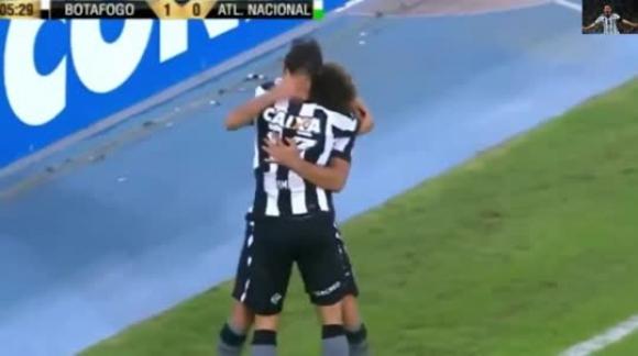 Botafogo vs Atlético Nacional 1-0 - Gol de Rodrigo Pimpao  Copa Libertadores 1852017