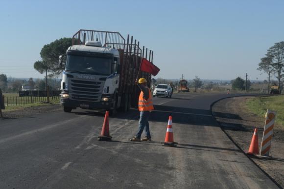 Ruta 26: una carretera en estado crítico. Foto: F. Flores