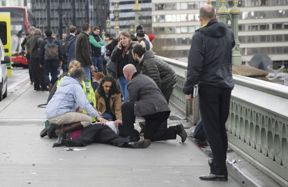 Incidentes en el Parlamento británico. Foto: Reuters
