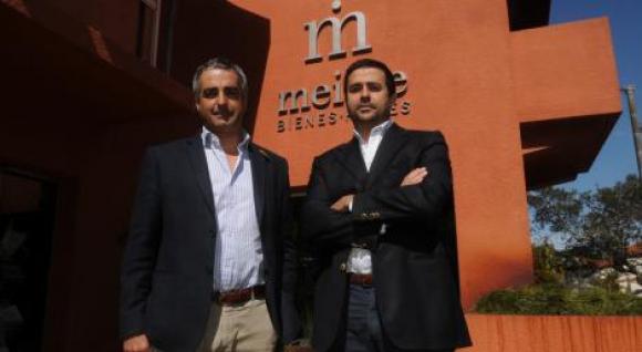 Ignacio y Matías Albanell, directores de Meikle Bienes Raíces.