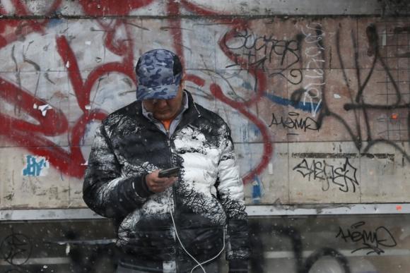 Nueva York bajo nieve. Foto: Reuters