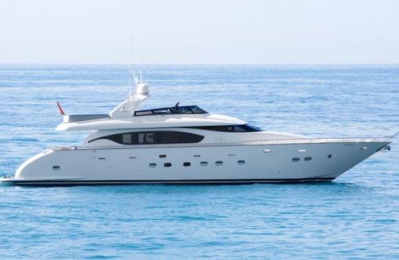 El yate Seven C es una embarcación de 28 metros cuadrados