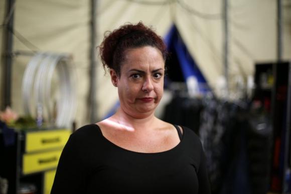 Gabriella Argento es una clown brasilera, esperó 7 años para ser convocada. Foto: Florencia Barre