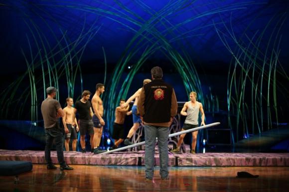 El Cirque ensaya en Paraguay. Foto: Florencia Barre