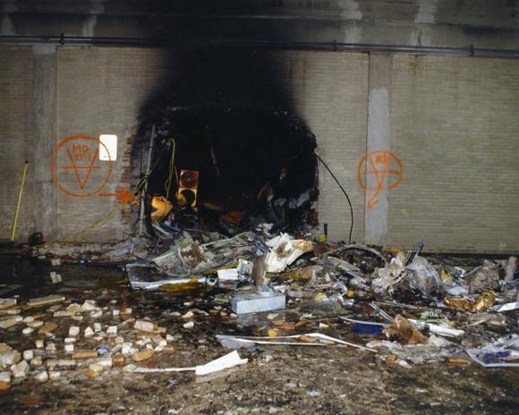 Nuevas imágenes de los daños que el Pentágono sufrió en el atentado de 2001. Foto: EFE