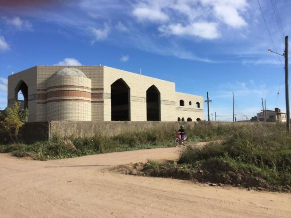 Mezquita: las obras empezaron en 2007 pero estuvieron unos años detenidas. Foto: N. Araújo