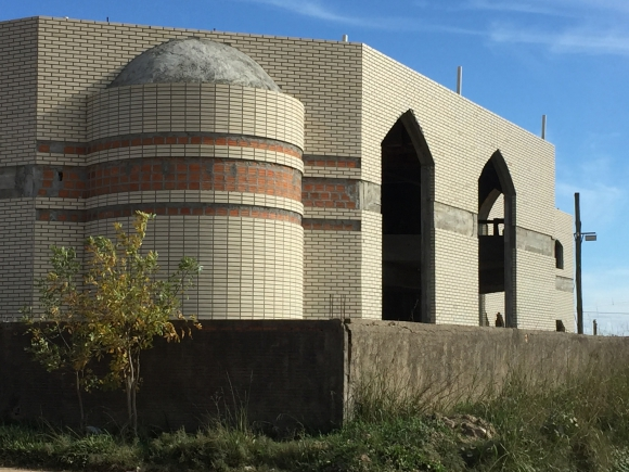 Mezquita en Chui. Foto: Néstor Araújo