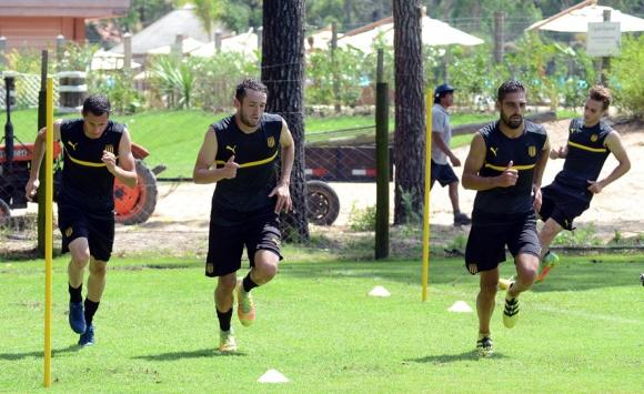 La pretemporada de Peñarol en Maldonado. Foto: Ricardo Figueredo