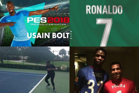 El talento en la panza, Bolt en el PES, Pogba con Tevez en China y más
