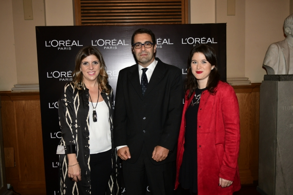 Karina Porteiro, Nicolás Oberti, Annouk Horion.