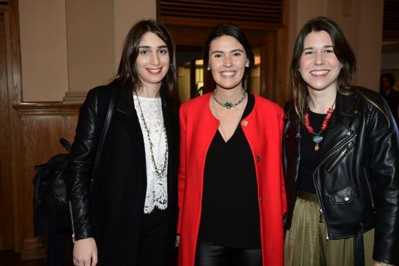 Viviana Lapachian, Manuela Mondelli, Magdalena Morel.