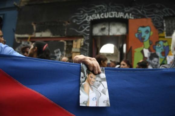 Homenaje a Valeria Sosa. Foto: Fernando Ponzetto