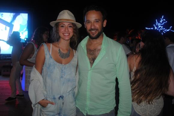 Sofía y Rodrigo Viniegra.