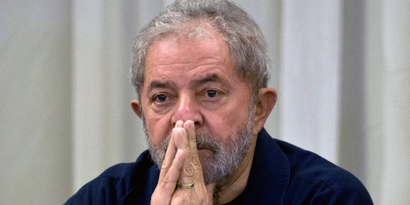 Vuelve: Lula ya lanzó su candidatura. Foto: AFP