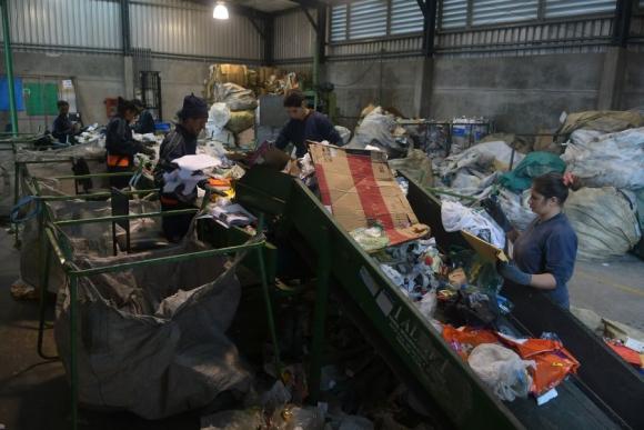Planta La Paloma comercializó el mes pasado 11.500 kilos de residuos. Foto: A. Colmenga