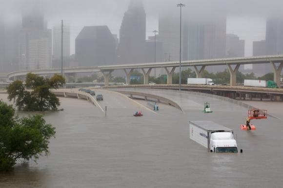 Efectos del huracán Harvey. Foto: Reuters