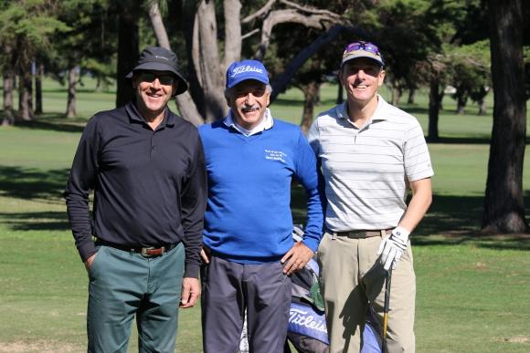 Daniel Picún, Paolo Charadia, Álvaro Cellerino.