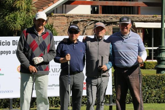 Gerardo Alloza, Luis Polnitsky, José Nino Pesce, Rodrigo Acosta y Lara.