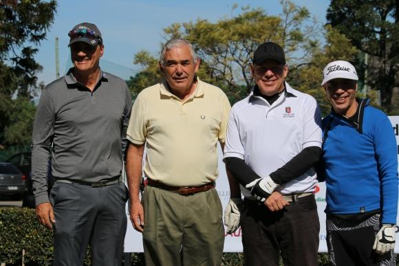 José Luis Toyos, Conrado Larrauri, Erik Kaminski, Gustavo Nongoy.