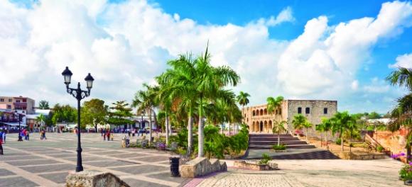 Santo Domingo, refugio histórico de República Dominicana y punto de partida para los cruceristas.