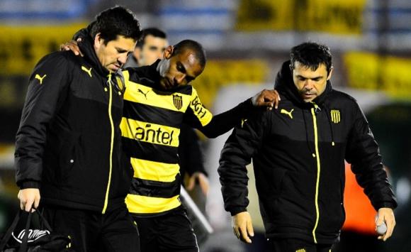 Ángel Rodríguez salió lesionado el pasado domingo. Foto: Gerardo Pérez