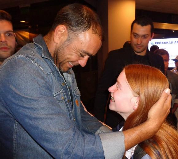Camila conoció a Álvaro Recoba cuando tenía 12 años.
