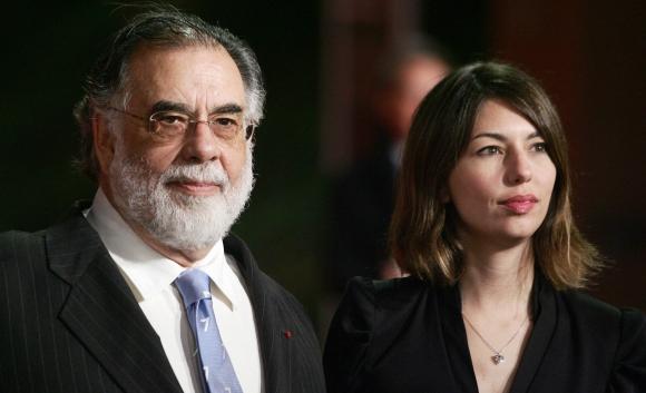 Sofía y Francis Ford Coppola y la pasión por la gran pantalla