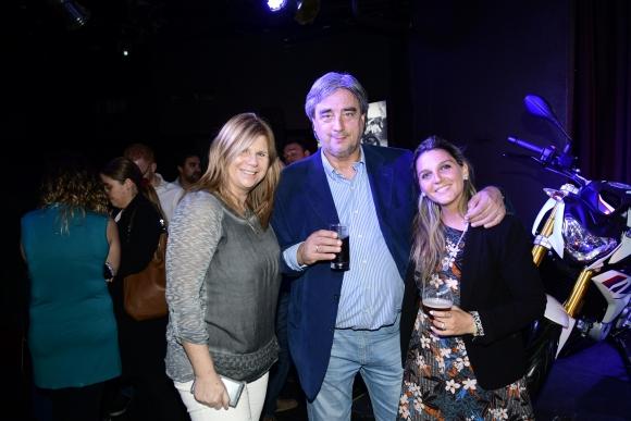 Eliana Shkurti, Nelson Vicente, Andrea Larralde.