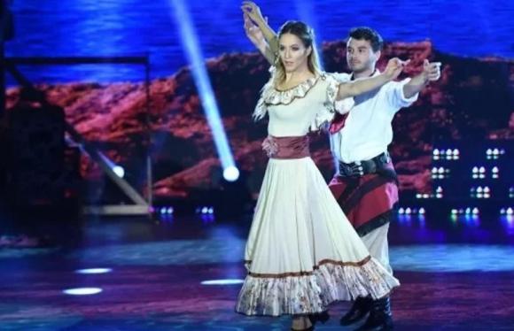 Agustín Casanova y Flor Vigna (captura tv)